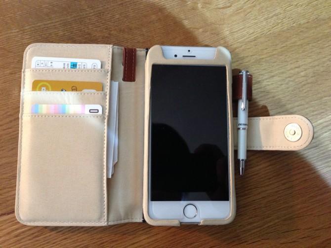 Smart Holder for Biz/カード・メモ紙・ミニボールペンを常時入れてます