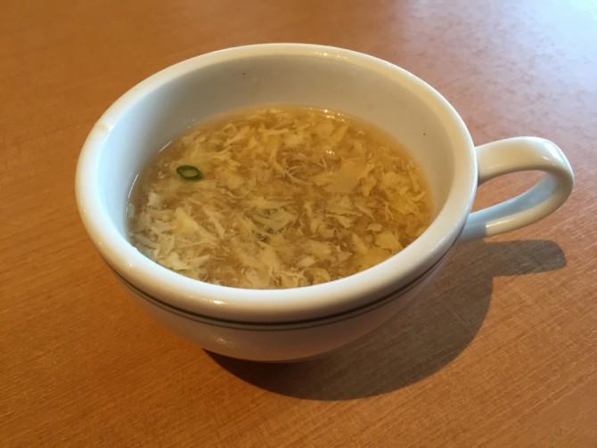 ブロンコビリー/卵スープ