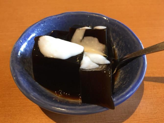ブロンコビリー/デザート(コーヒーゼリー)