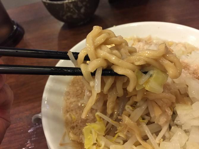 あっ晴れ/ラーメンの麵は浅草開化楼の特製極太麺
