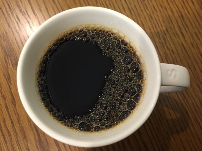 スターバックスのドリップコーヒー