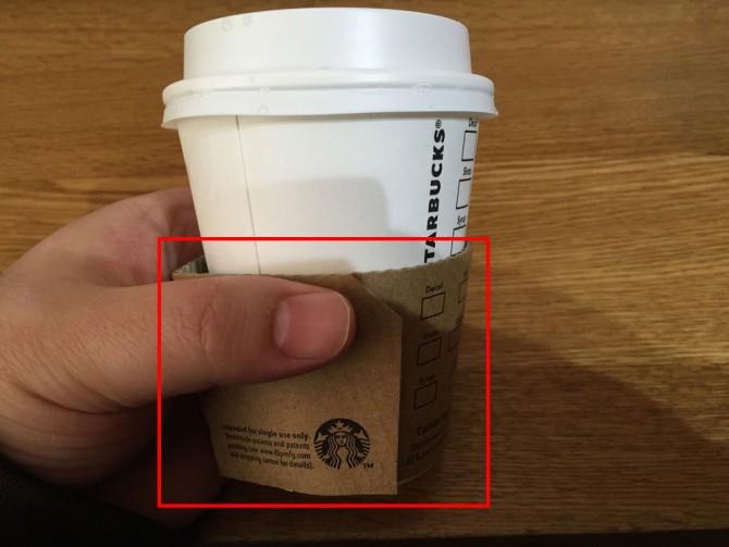 スターバックスのドリップコーヒー(テイクアウト用)