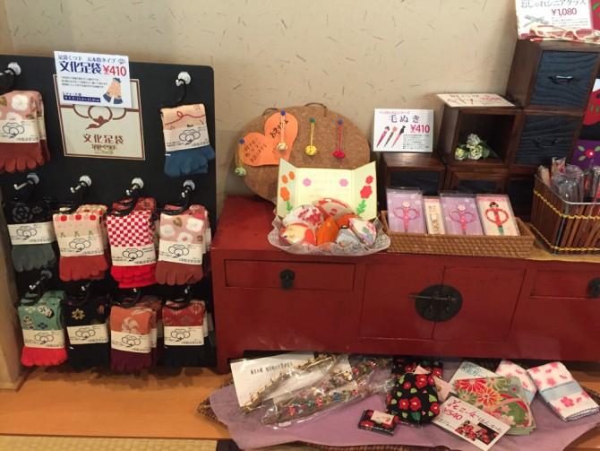 Ryo-an(リョウアン)/店内2Fの小物・アクセサリーコーナー
