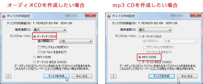 PCのitunes内の音楽をCD-Rに書き込む方法