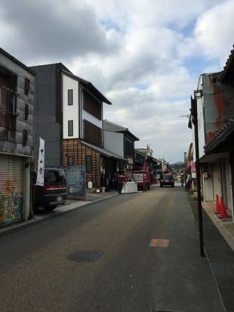 犬山の本町通り