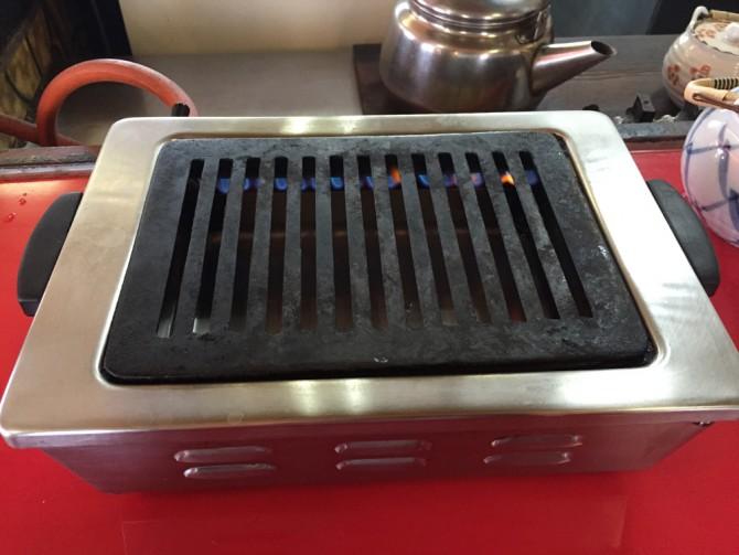 焼肉の楽楽で一人焼肉します