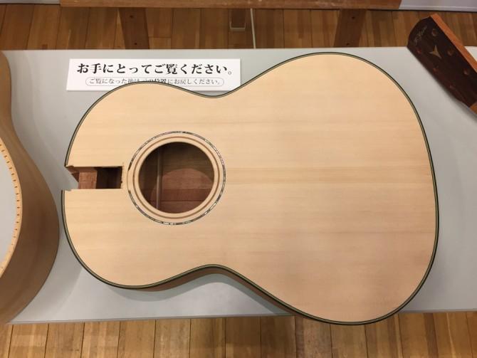 K.YAIRI 80th Anniv. FES/アコースティックギターの仕上がりのボディ
