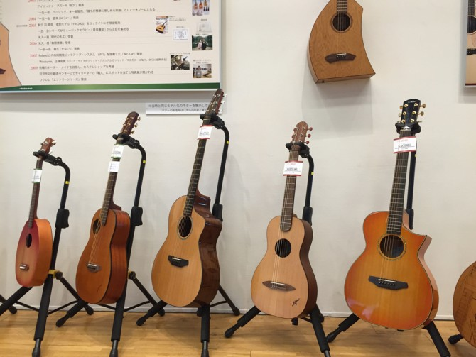 K.YAIRI 80th Anniv. FES/ヤイリギター歴代ギターモデル