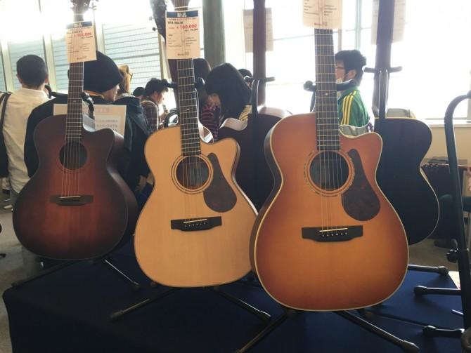 K.YAIRI 80th Anniv. FES/ヤイリギターのアウトレット販売ブース