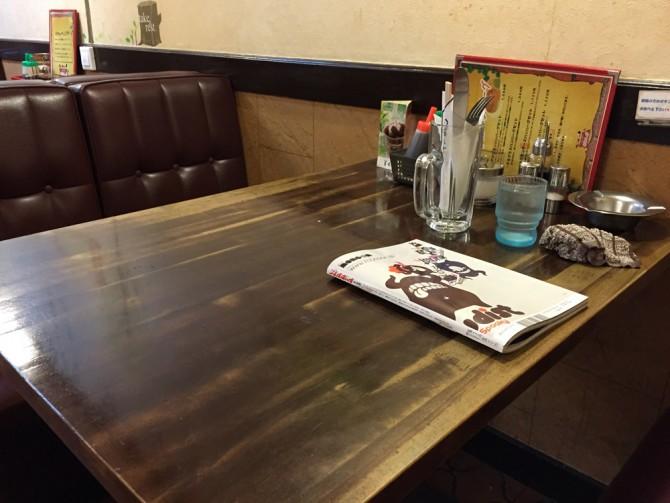 赤れんが/テーブル席