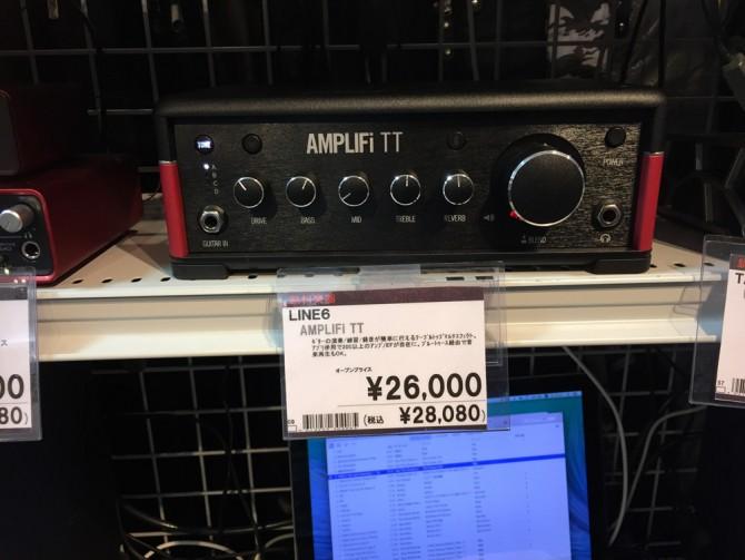 LINE6「AMPLIFI TT」