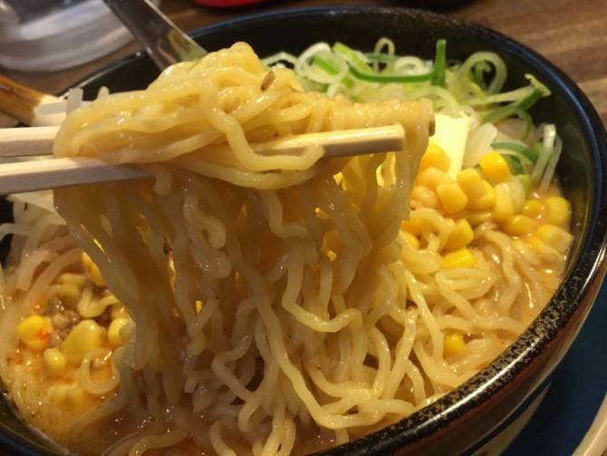 しなとら美濃加茂店/しなとら美濃加茂店/四川担担麺の麵