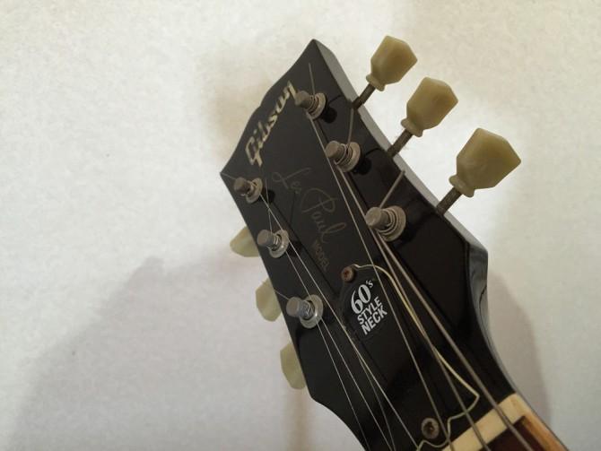 Gibsonのレスポールのエレキギター