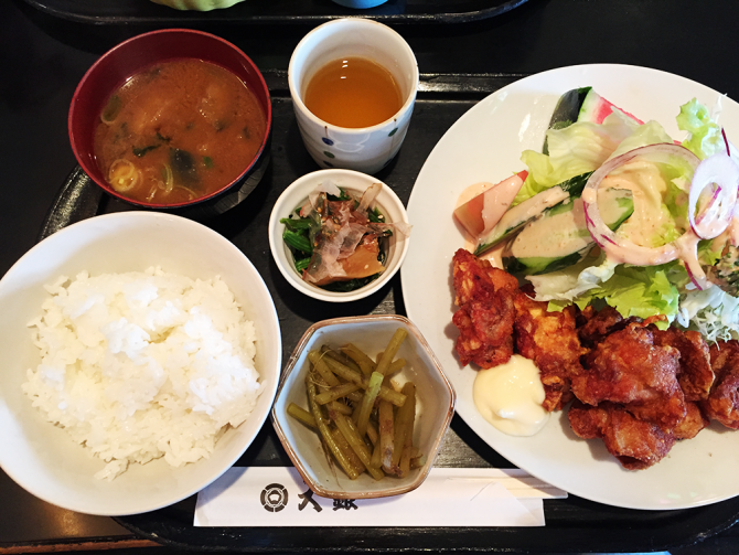 大銀/唐揚げ定食