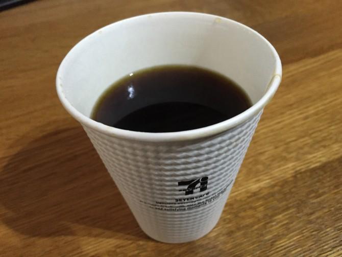 セブンカフェ/ホットコーヒー