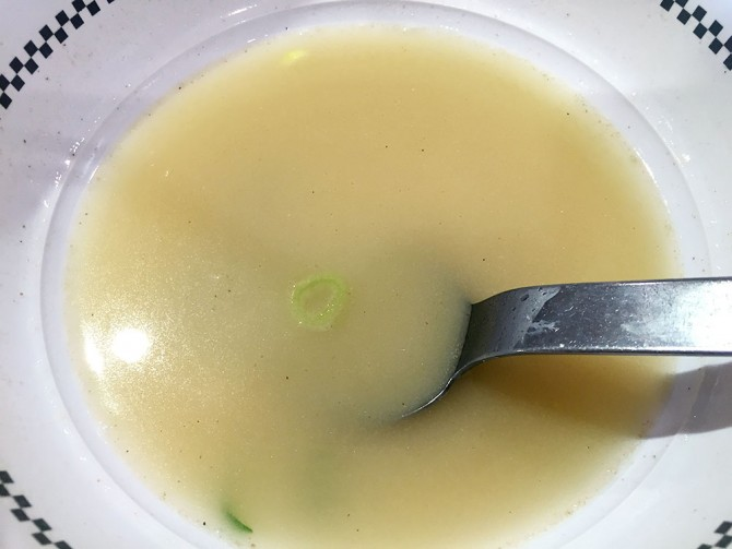 スガキヤ/特製ラーメンのスープ