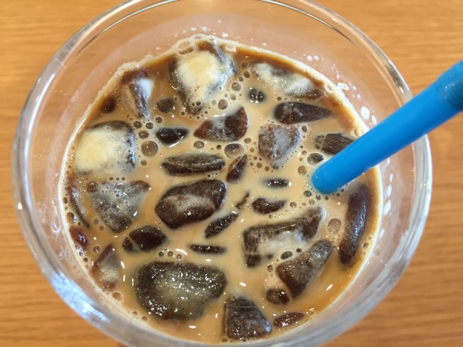 ミスド/氷コーヒー
