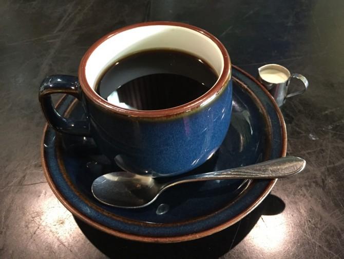 大銀/日替わりランチのホットコーヒー