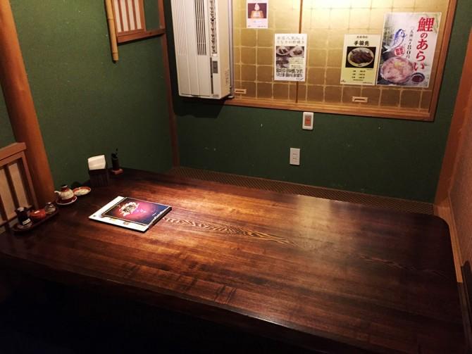 たむろ/個室テーブル席