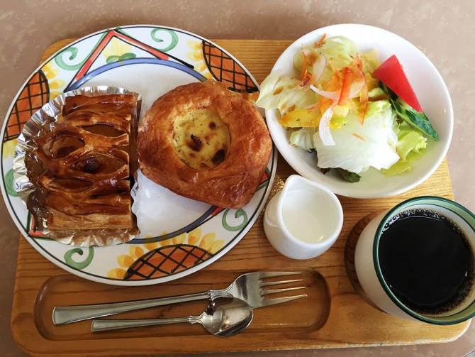 メリーランド/パンDEメリーのパンが食べられるモーニングMセット