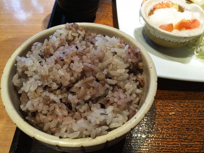 大戸屋ランチ/五穀ご飯