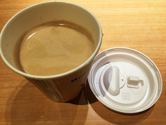 大戸屋/テイクアウトのホットコーヒー