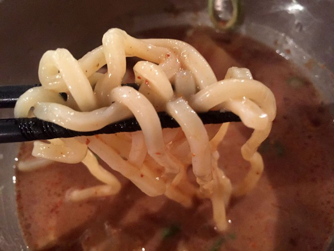 カガミハラ55/つけ麺を食す