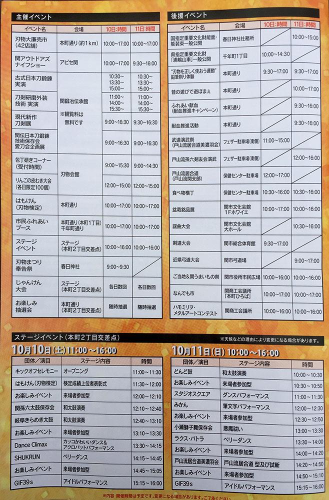 刃物まつり2015/イベント