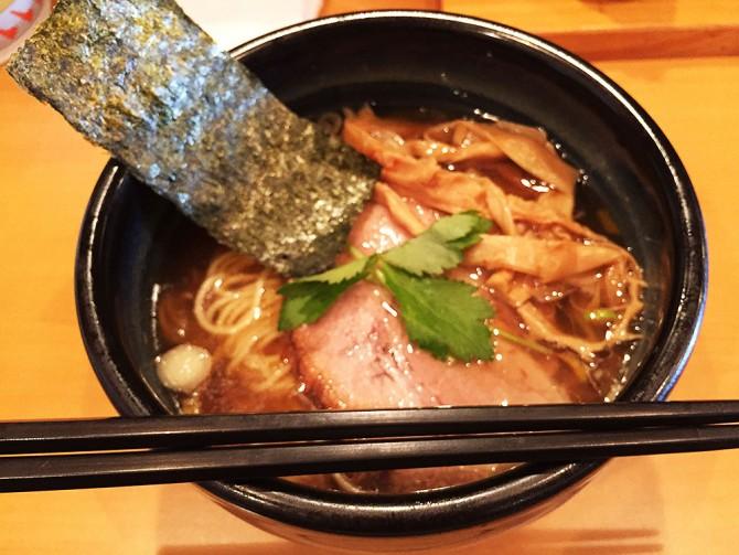 麺屋 和/しょうゆ麺(生姜風味)