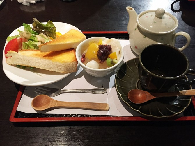 あべまき茶屋/朝セット