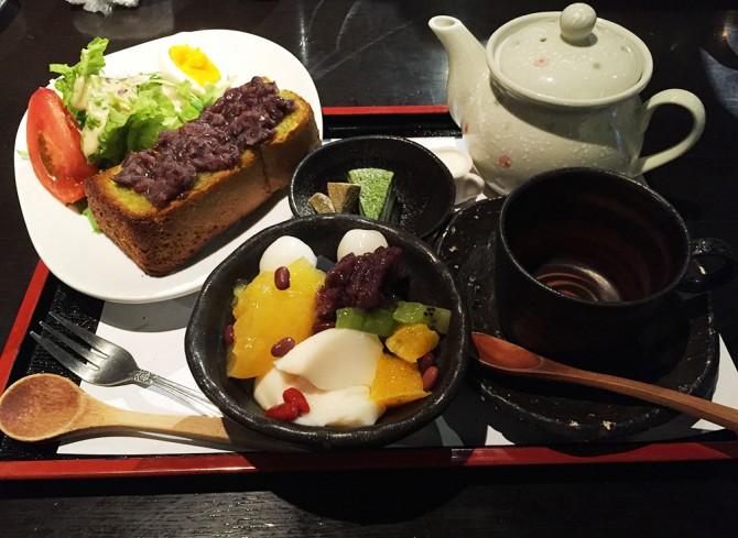あべまき茶屋/八坂甘味セット