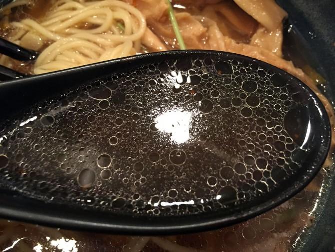 麺屋 和/しょうゆ麺(生姜風味)のスープ