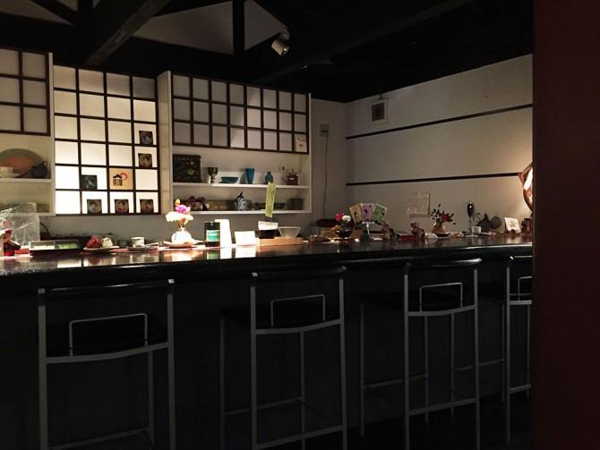 あべまき茶屋/カウンター席