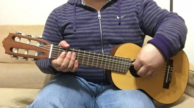 ギタレレ(ヤマハ GL1)を弾いてみた