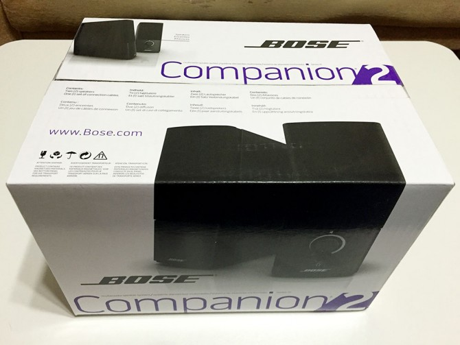 BOSE Companion2 Series III/商品パッケージ