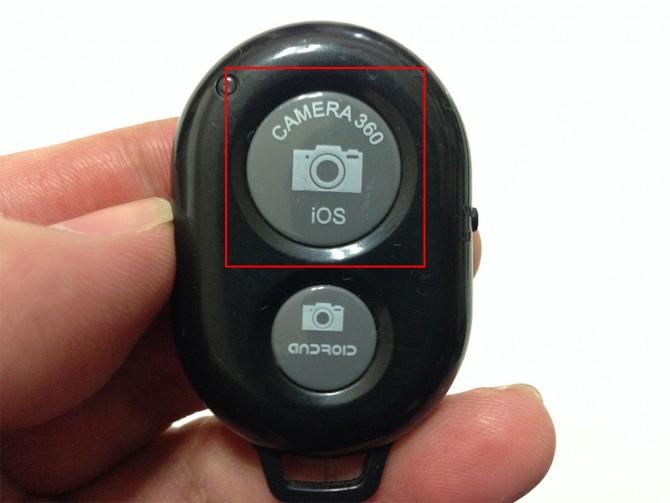 カメラシャッターリモコンコントロール