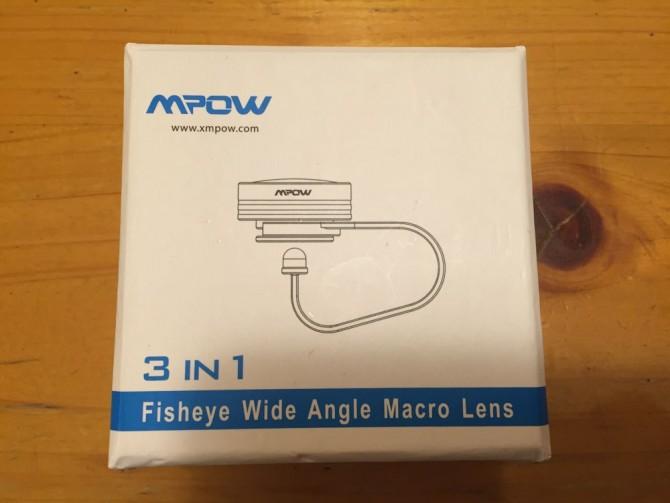 Mpow Clip-On レンズ/商品パッケージ