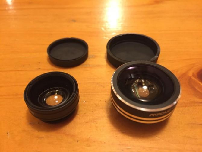 Mpow Clip-On レンズ3点セット/広角レンズ+マクロレンズ+魚眼レンズ