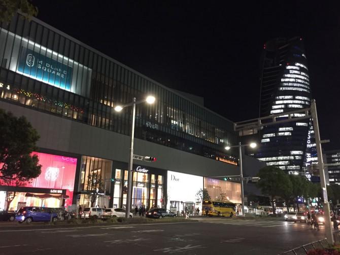 名駅の夜景/ミッドランドスクエア&スパイラルタワー