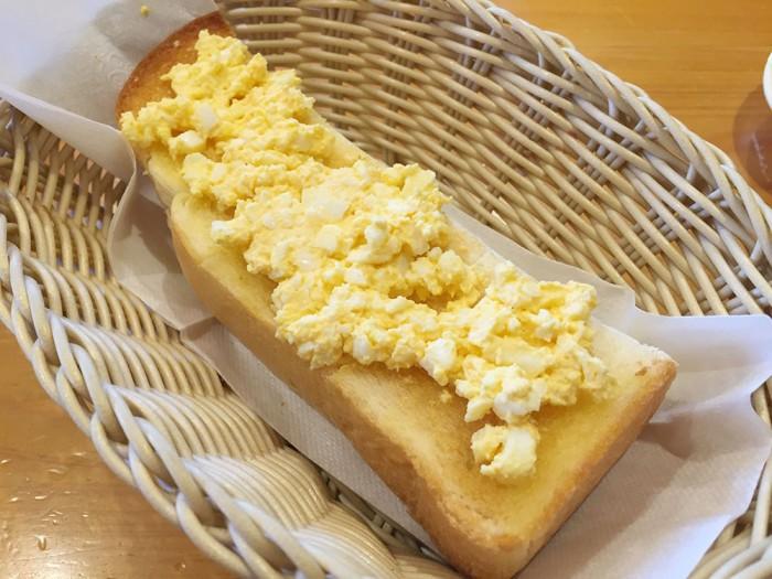 コメダ珈琲/モーニング(トースト+手作りたまごペースト)