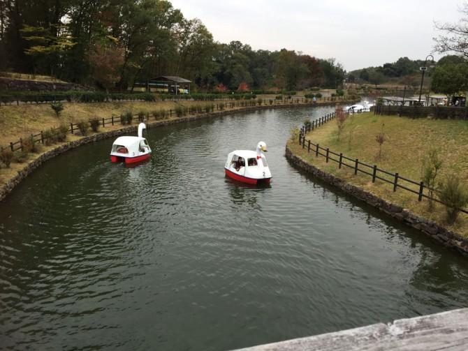昭和村/スワンボート