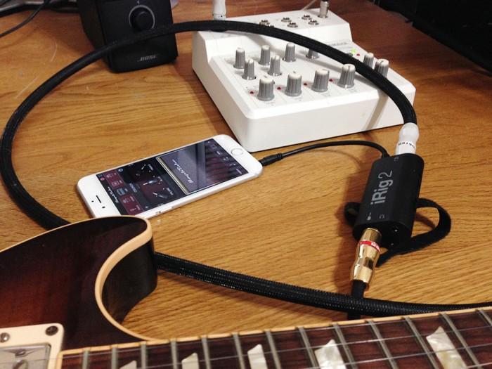 irig2+AmpliTube
