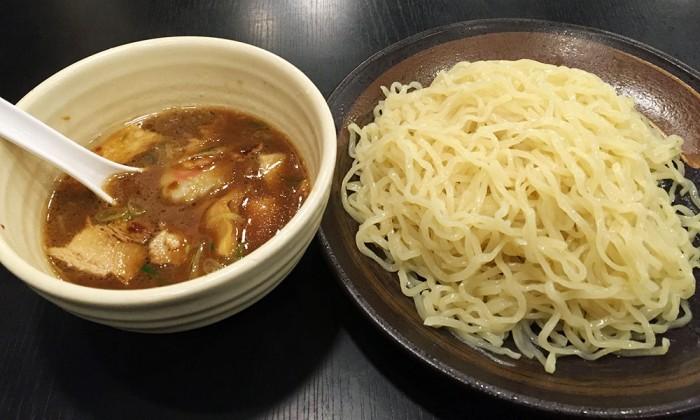 幸楽苑/濃厚魚介つけめん(大盛り)