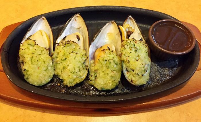 サイゼリヤ/ムール貝のガーリック焼き