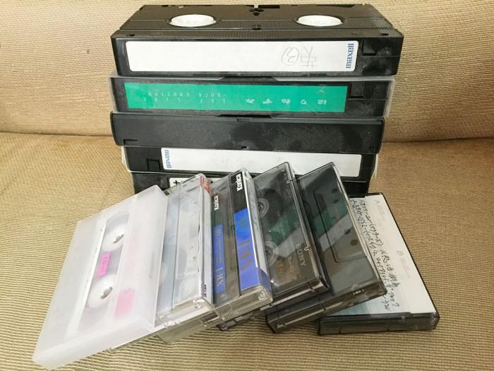 VHSビデオテープ&カセットテープ