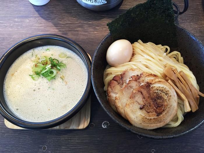 赤橙/特製辛つけ麺(特盛)