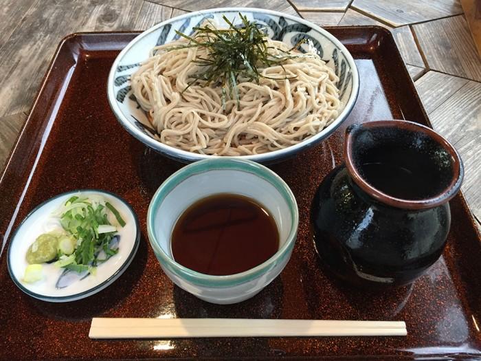 龍神そば/ざる蕎麦 十割麺(竜神)