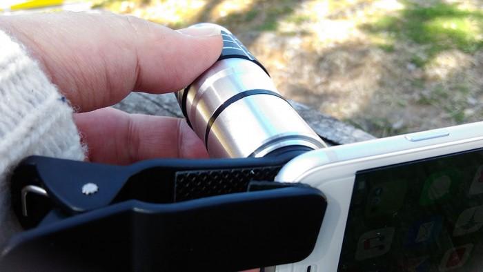 望遠レンズで写真を撮ってみた by iPhone
