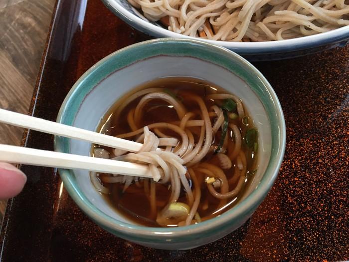 ざる蕎麦 十割麺(竜神)
