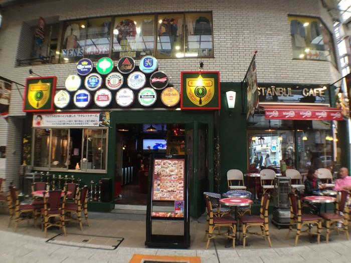 大須商店街/イスタンブールカフェ